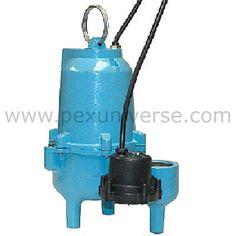 ES50D1-20 Automatic Sump/Effluent/Sewage Pump w/ Piggyback Diaphragm Switch and 20' cord, 1/2 HP, 115V