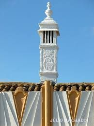 Resultado de imagem para platibandas algarvias Portugal, Algarve, Azores, Yahoo Images, Portuguese, Image Search, Country, Beautiful, Fireplaces