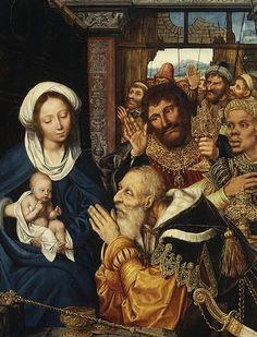 Quentin Massys: Adoración de los magos, 1526.