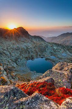 Tears Of the Giant, Sunset Kalinini lakes, Bulgaria
