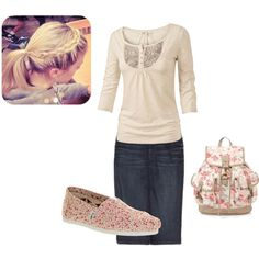 """""""Floral"""" by samanthahac on Polyvore"""