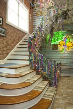 Mardi Gras Stairs...Real World New Orleans Photos
