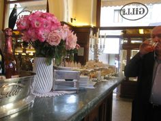 A great hot chocolate at Gilli. Florence.
