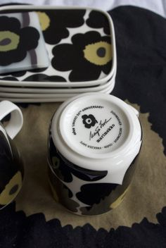 - note of our daily life Our Daily, Marimekko, 50th Anniversary, Bella, Tableware, Life, Dinnerware, Tablewares, Dishes