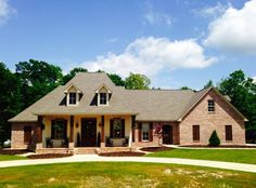 French Country Home Plan With Bonus Room - 56352SM | Acadian, European, French Country, Southern, Photo Gallery, 1st Floor Master Suite, Bonus Room, Butler Walk-in Pantry, Den-Office-Library-Study, Jack & Jill Bath, PDF, Split Bedrooms, Corner Lot | Architectural Designs