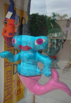 Atelir, Vitrine, Delfina Reis , Rio de Janeiro, Dadá Sereia  #dolls #art #delfinareis  #oneofakind  #softsculpture #dodotoyart  #toyart Dodô & Dadá Toy Art  #softies #soft sculpture #artdolls #toys #dodos&dadas #dodos #dada  #doll