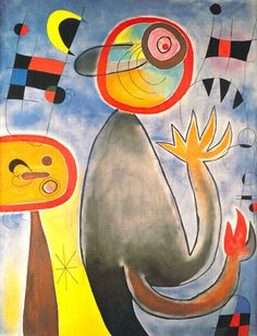 Animal Composition by Joan Miro - art print from King & McGaw