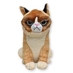 Grumpy Cat Stuffed Plush Doll