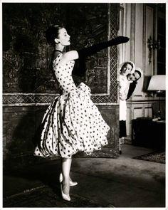 Vintage + polka dots = perfection!