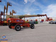 Used JLG 1350SPJ articulating boom lift. Year: 2006. Height: 43m.  (Gomariz Sistemas de Elevación)