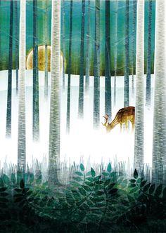 Vivid Illustrations Blend Nature with Ornamental Patterns - My Modern Metropolis