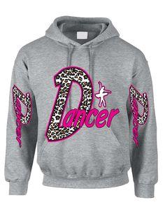 Dancer White Leopard women's Hoodies dancing winter sweatshirt #dance