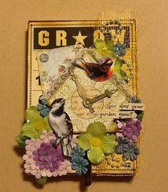Scrap Savings: The Garden of the Birds