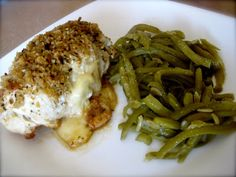Chicken Cordon Bleu - 8 Min in Pressure Cooker!  I would brown top under broiler.