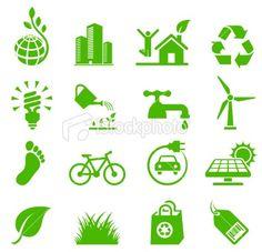 Electric car Environmental | Stock Illustration | iStock