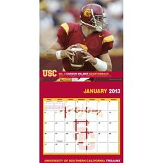 Perfect Timing - Turner 12 X 12 Inches 2013 USC Trojans Wall Calendar (8011207) by Perfect Timing - Turner. $9.88. Showcase the stars of your favorite team with this rousing team wall calendars. Player action and school photos with player bio information.. Save 38% Off!