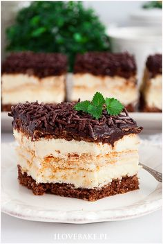 Coconut cake in chocolate- Ciasto kokos w czekoladzie Coconut cake in chocolate. Coconut cake in chocolate- Ciasto kokos w czekoladzie Coconut cake in chocolate - Pear Recipes, Pastry Recipes, Baking Recipes, Sweet Recipes, Cake Recipes, Dessert Recipes, Apple Sour Cream Cake, Chocolate Pastry, Cake Chocolate
