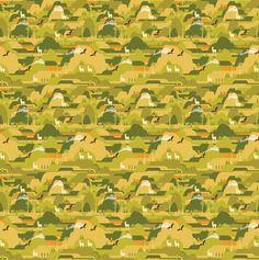 Surface Pattern Designs by Ben O'Brien, via Behance