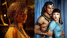 "La reina Nefertari, ""Exodus"" y ""Los Diez Mandamientos"""