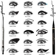 Take some inspiration from the runway. | 15 Easy Hacks For Perfect Eyeliner