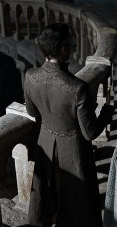 Petyr Baelish - okay so when your wardrobe looks good from the back? now that's swagger