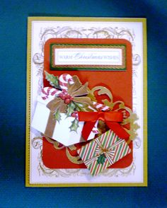 Anna Griffin cards bought from HSN.  They're lovely, but, a lot of work to make.