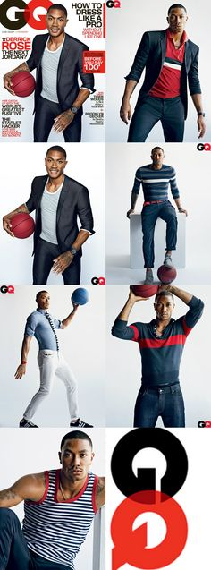 Derek Rose for the May edition GQ (America)