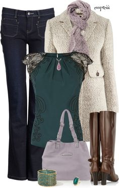 """""""When It's Cold Outside ..."""" by exxpress on Polyvore"""