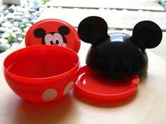 Mickey Mouse Ball Bento Box