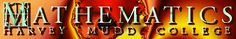 Harvey Mudd College online math tutorials beginning 10th grade math - pre calculus, calculus, differential equations, linear algebra, multivariable calculus