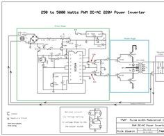 "This is a heavy duty design of a Pulse Width Modulator DC/AC inverter using the chip SG3524 . I've been using it as a backup to power up all my house when outages occur since aprox. 6 years non stop. If you like the work and intend to build the circuit don't forget to click on the ""I made it"" button so I know how many people benefit from the design, Thanks. Notes: 1> The schematic circuit design is for a 250 watt output, while the pics are of my 1500 watts inverter that i built,..."