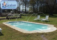 """Riveiera: 14'x31' Awesome Pools is located in Apison, Tennessee and builds beautiful fiberglass swimming pools, spas and tanning ledges from Custom Fiberglass Pools. We service South Eastern Tennessee and North Western Georgia.  For more information on how you can have your own """"Awesome"""" backyard, give us a call at (423) 615-9554, email us at info@awesomepoolsspas.com or visit www.awesomepoolsspas.com"""