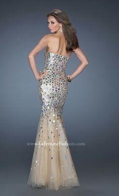 LaFemme Fashion sparkle gown
