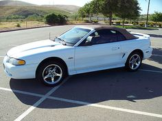 1997 Ford Mustang GT Convertible 2-Door 4.6L Vortech Supercharged 5 Speed