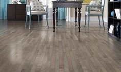 Create a beautiful backdrop with Liberty Valley Laminate Flooring. In Vintage Pine, this flooring delivers stunning tonality through its smoky brown and variegated gray coloration. Mohawk Laminate Flooring, Vinyl Plank Flooring, Stone Flooring, Kitchen Flooring, Plywood Floors, Plywood Furniture, Vinyl Planks, Furniture Design, Best Laminate