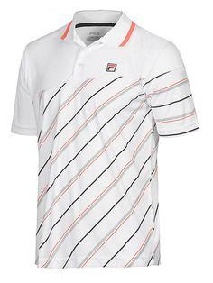 Collezione Yarn Dyed Polo Shirt by Fila