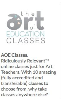 Great website for art class lessons