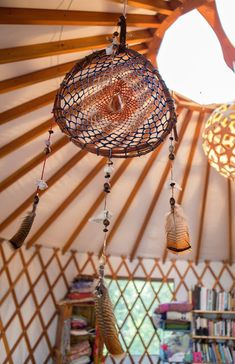 Moon to Moon: The Yurt of .... Erin Tavin and Nathan Stein