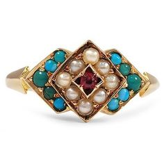 The Lennox Ring #BrilliantEarth #Vintage