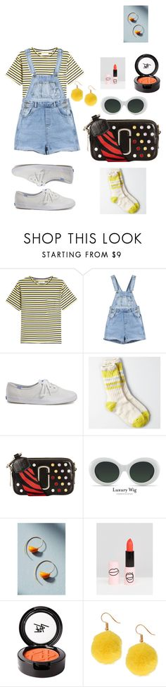 """litte Summer vibes"" by chandxo on Polyvore featuring Anine Bing, Keds, American Eagle Outfitters, Marc Jacobs, Jess Panza, ASOS, Beauty Is Life and Humble Chic"