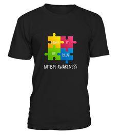 T shirt  Autism Awareness Light it up Blue T-Shi9  fashion trend 2018 #tshirt, #tshirtfashion, #fashion