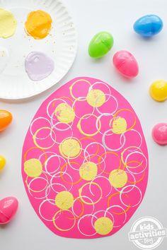 Preschool Easter Egg Craft {MAKE IT!} | Kids Activities Blog