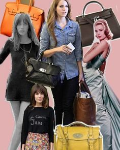 Namesake Bags and the Celebrities Who Inspired Them (from Fashionista)