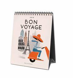 2018 Bon Voyage Features 12 Original Illustrations