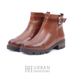 Botine casual din piele naturala - 055 Cognac Box Rubber Rain Boots, Biker, Box, Casual, Shoes, Fashion, Moda, Snare Drum, Zapatos