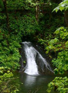 Oregon Waterfalls - Boundary Creek Falls