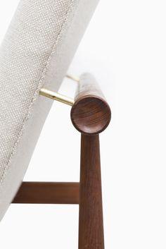 Finn Juhl Japan / FD-137 easy chairs by France & Søn at Studio Schalling #midcentury #finnjuhl