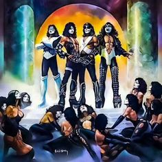 The Greatest Band In The World....KISS!!!!!