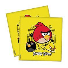 Angry Birds Parti Peçete, doğum günü partisi için gerekli malzemeler
