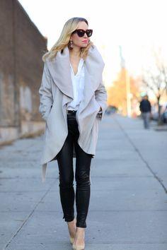 cute winter look. Streamlined - Brooklyn Blonde